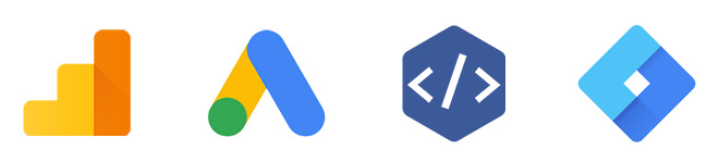tracking code icons
